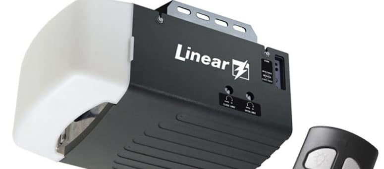 Linear garage door opener brand Tempe