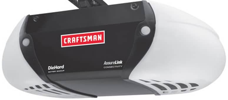 Craftsman garage door opener Milwaukee