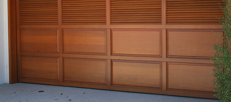 Custom Wood Garage Doors in Milwaukee