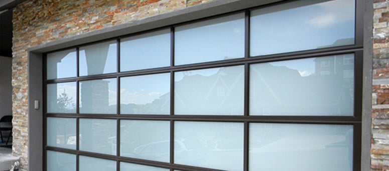 Custom Glass Garage Doors in Sedona