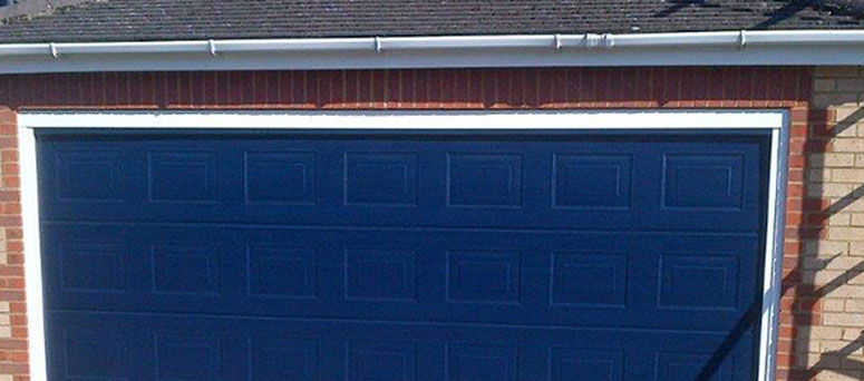 Blue Garage Doors in Oklahoma City