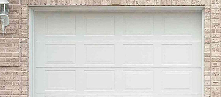 White Garage Doors in Oklahoma City